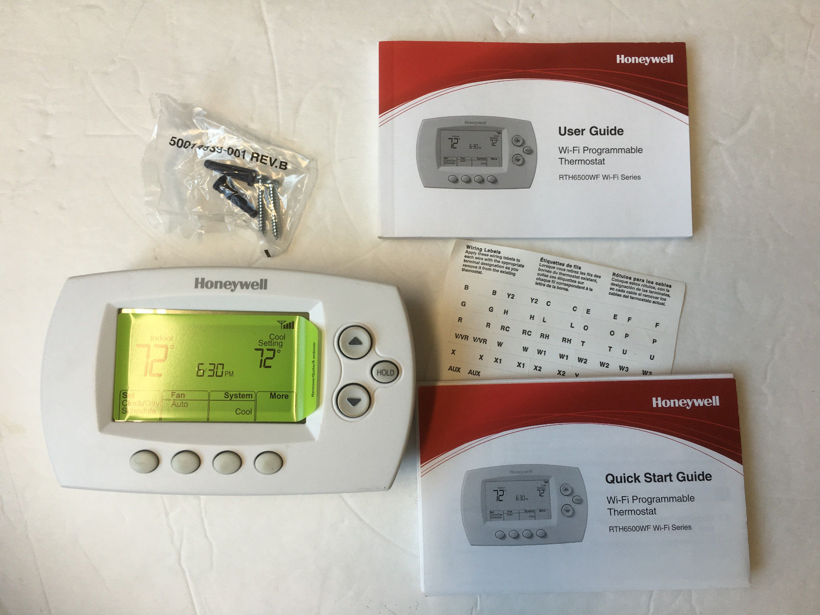 honeywell_RTH6850_unboxing